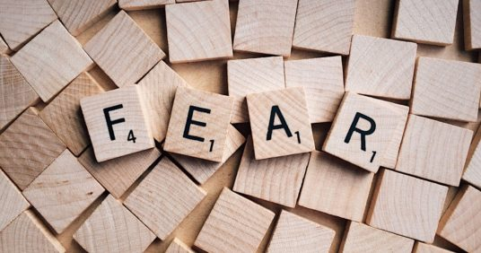 Harness fear and use it to your advantage